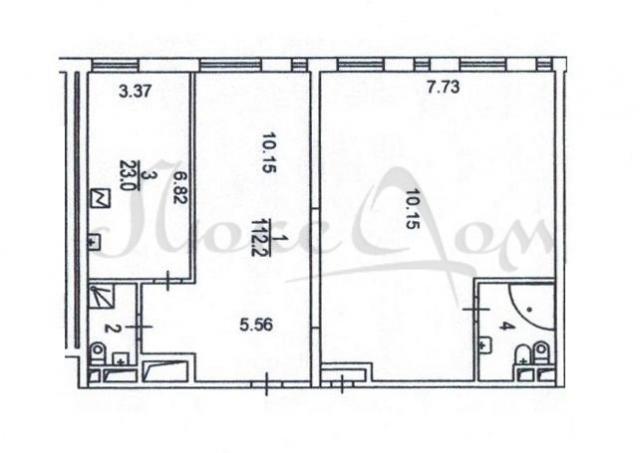 4-к квартира, 148 м2, 9 /11 эт.