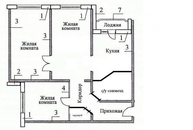 Продается 3-комнатная квартира, Варшавское ш., 16к1